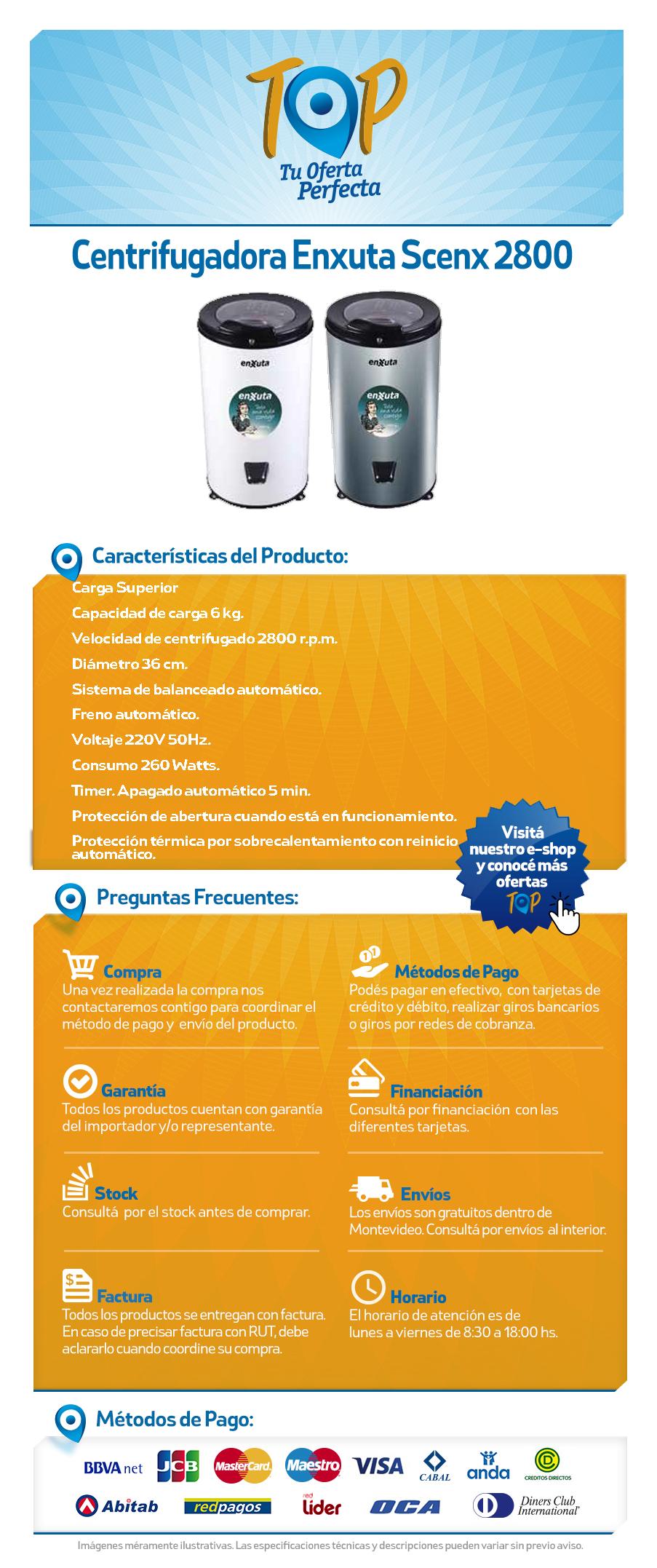 centrifugadora 2800